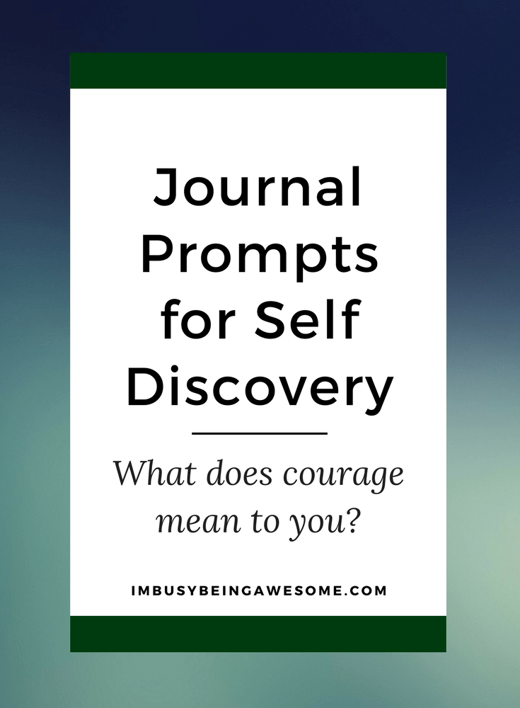 Journal Prompt for Self Discovery- What is Courage to You, bullet journal, planner, diary, self reflection, writing, self help, self care, self love, health, mental health
