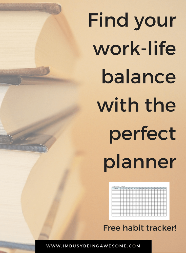 How to Create Work-Life Balance with a Planner. Time management, scheduling, entrepreneur, work from home, organization, happy planner, arc planner, filofax #Timemanagement #schedule #entrepreneur #workfromhome #organization #happyplanner #arcplanner #filofax #worklifebalance