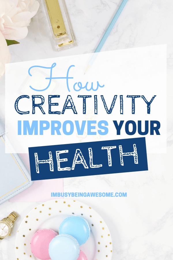 Creativity improves your health