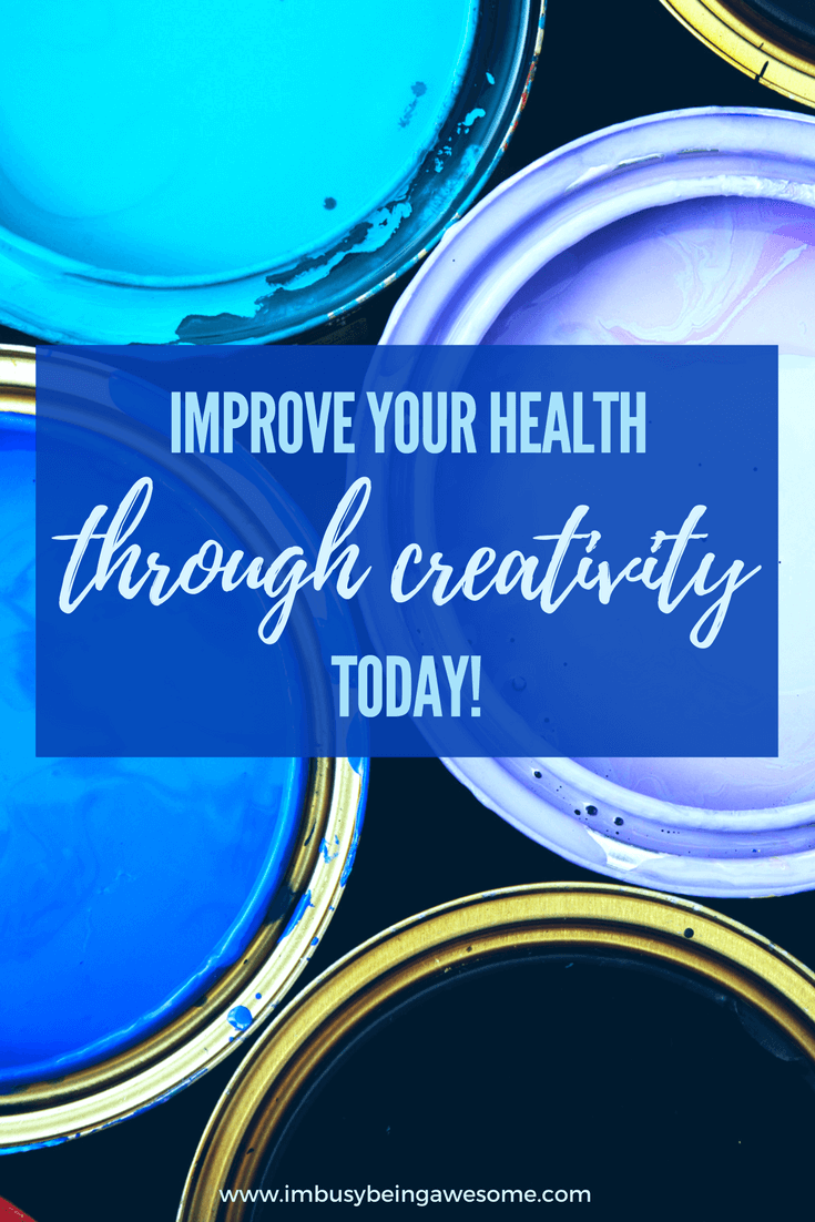 How Creativity Improves Your Health. Creative, how to be creative, creative process, healthy, healthy living, mindfulness, meditation, research #creative #creativity #creativeprocess #healthy #healthyliving #mindfulness #meditation #research