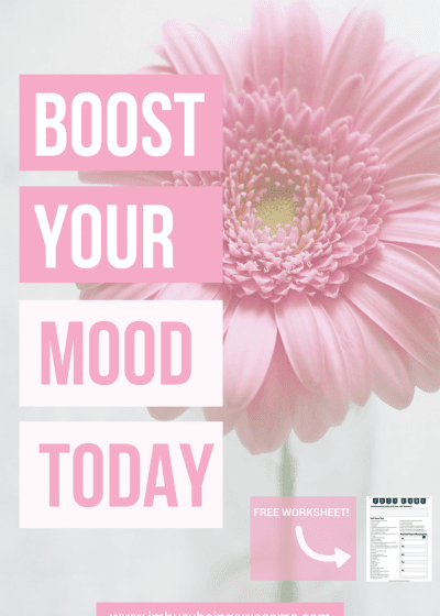 Boost Your Mood When You're Feeling Down. Mental health, happiness, good mood, feel better, depression, sadness, emotional, tips and tricks #Mentalhealth #happiness #goodmood #feelbetter #depression #sadness #emotional #tipsandtricks