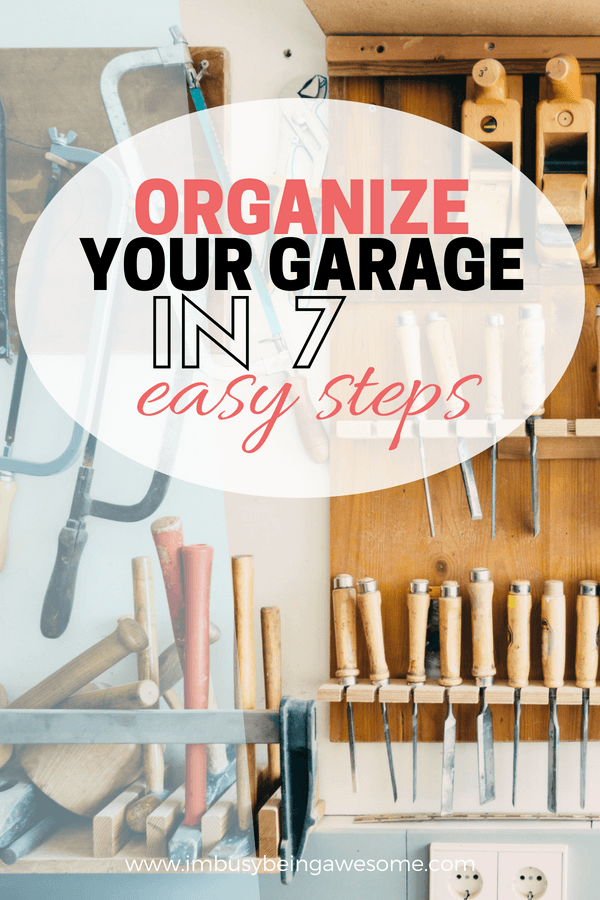 How to clean and organize the garage Garage organization, garage shelving, garage DIY, organization DIY, Affordable storage, creative garage storage ideas, creative garage organization, DIY garage organization, DIY garage storage, #DIY #Garage #organization #garages #organizationtips #storagespace #garagestorage