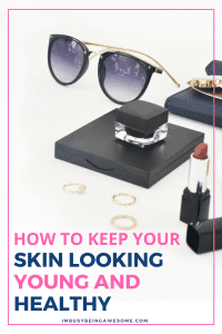 How to keep your skin looking young and healthy. Do you want younger looking skin? Are you seeking ways to keep skin young? Then this post is for you. Learn how to maintain youthful looking skin today! #skincare #beautytips #senegence #makeup #antiaging