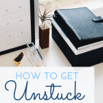 How to Get Unstuck and Start Moving Forward. Are you feeling stuck? Do you want to move forward in life, your relationships, your career, or your business? Are you struggling with negative thoughts? Check out these 5 tips to get your ideas flowing, break through the challenges, and start reaching those dreams.