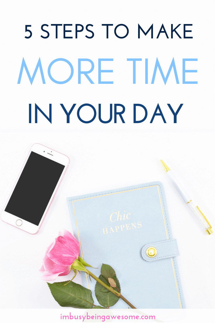 Make More Time In Your Day