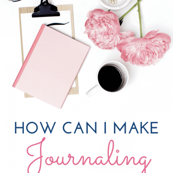 How can I make journaling a habit?