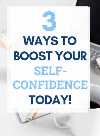 self-confidence boosters